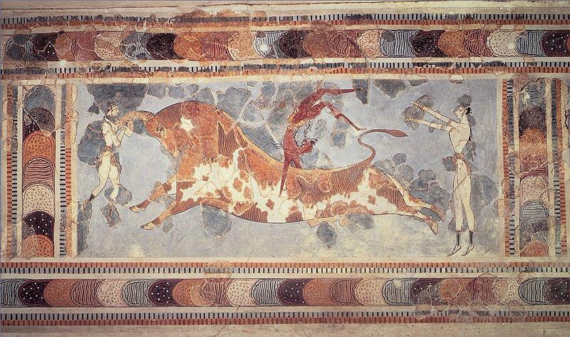 Knossos - Knossos Bull Fresco