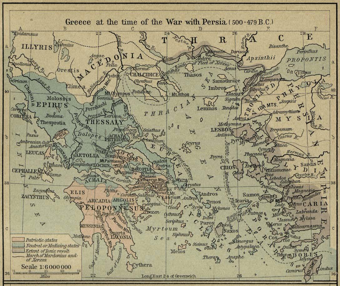 Greece - Greece (500-479 BCE)