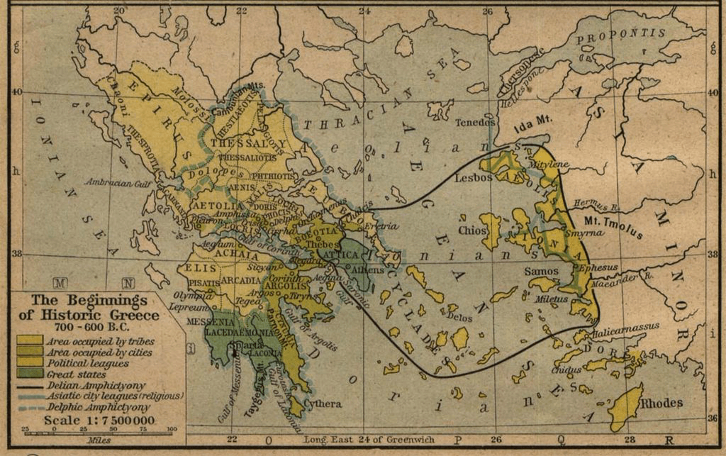 Greece - Greece (700-600 BCE)