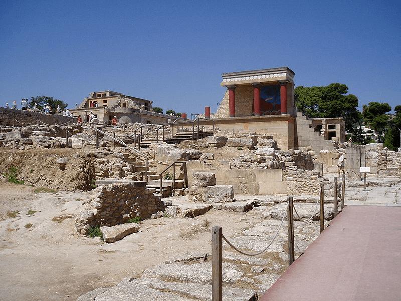 Knossos - Palace at Knossos